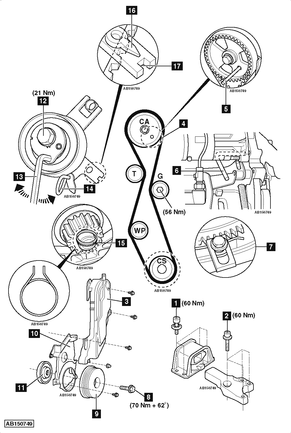 service manual  how to replace timing belt on a 2005 audi