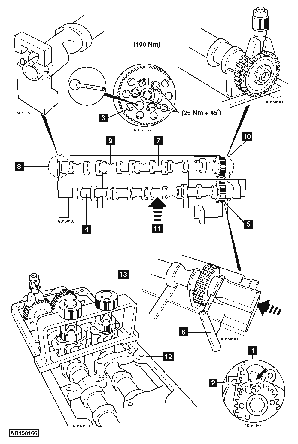 service manual  how to change camshaft chain on a 2010