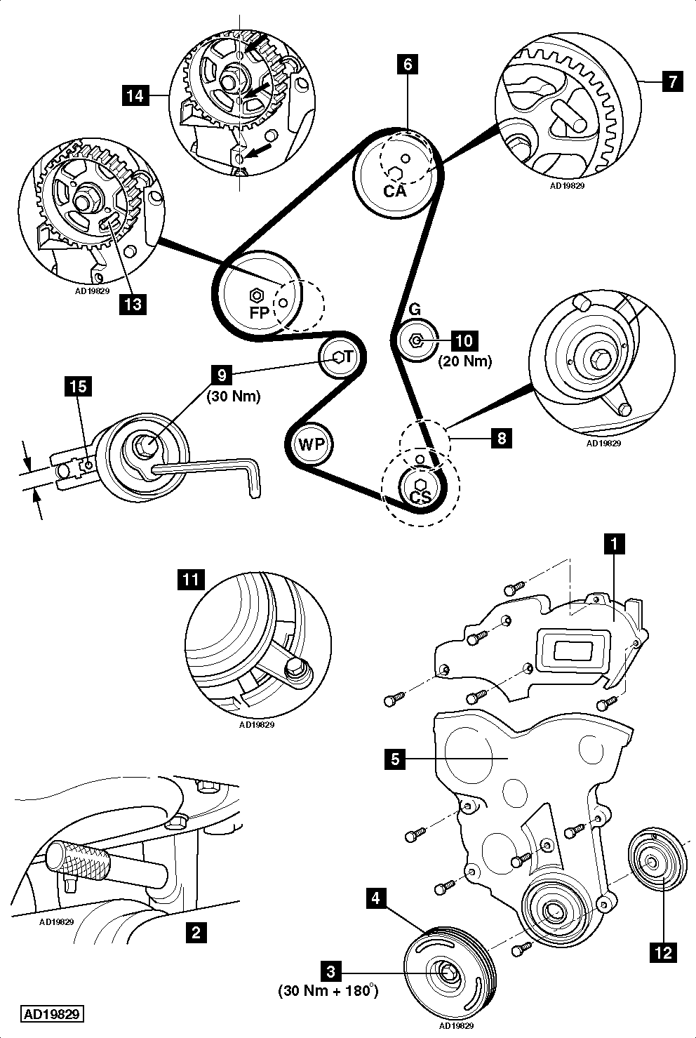 How To Replace Timing Belt On Ford Fiesta 1 6 Tdci 2009 in addition 3 0l Ohv Engine Diagram moreover Serpentine Belt Diagram 2001 Ford Focus 4 Cylinder 20 Liter Engine With Dohc Engine Without Air Conditioner 03380 moreover 2004 further I Need The Drive Belt Routing For A 1995 Ford Mustang 5 0 8 Cyl Within 1995 Ford F150 Serpentine Belt Diagram. on dodge serpentine belt diagram