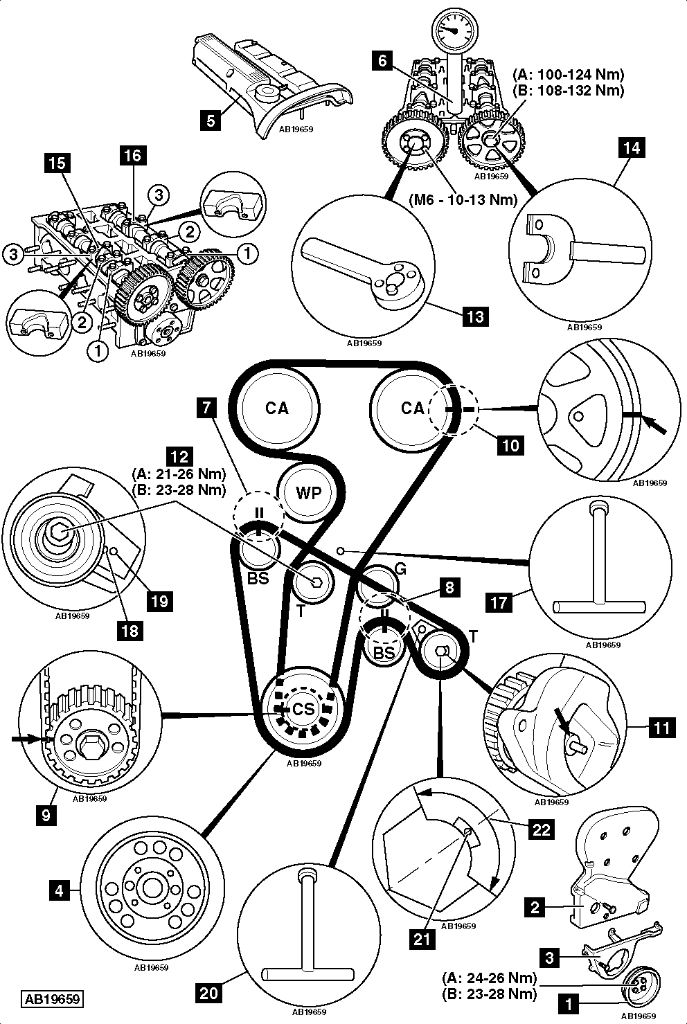 5 Cylinder Engine Diagram on 2003 nissan pathfinder water pump