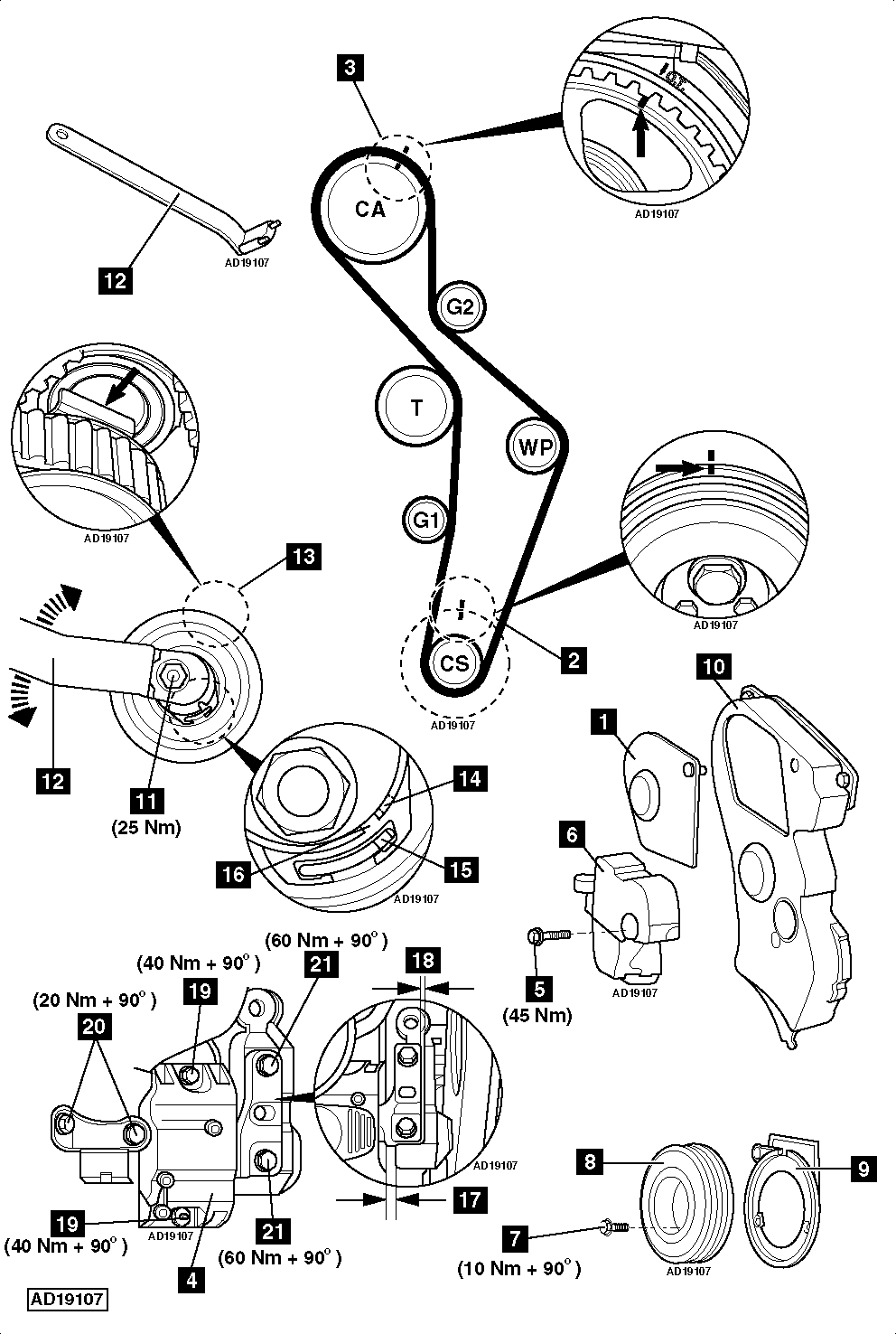 service manual  2005 kia optima timing belt replacement