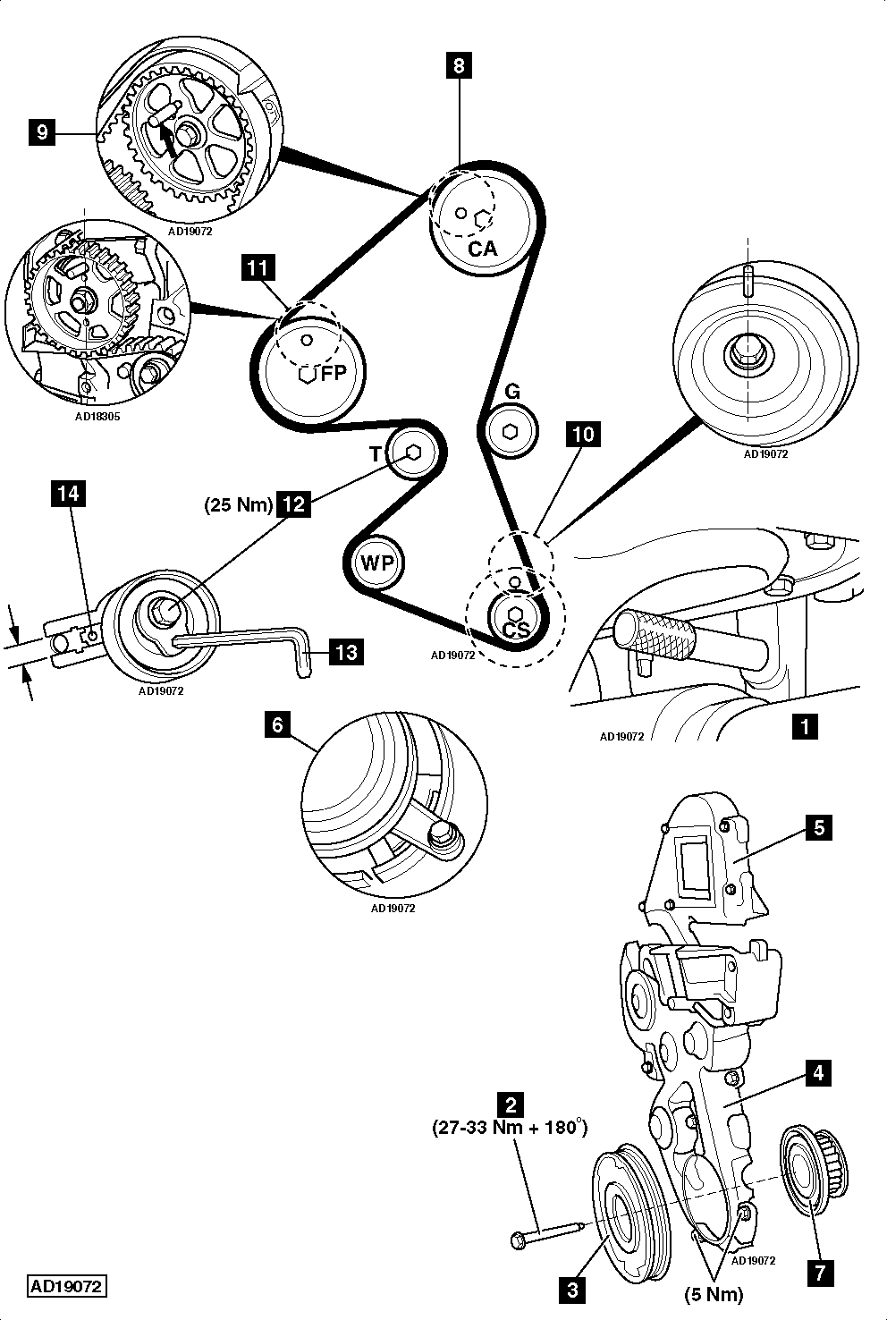 Camshaft Position Sensor Location Peugeot 307 on 2007 ford f 150 5 4 engine diagram