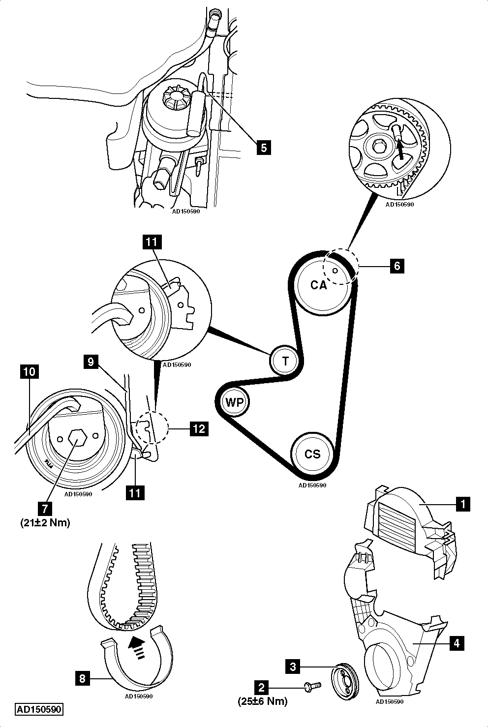 pulley diagram 2011 ford fiesta