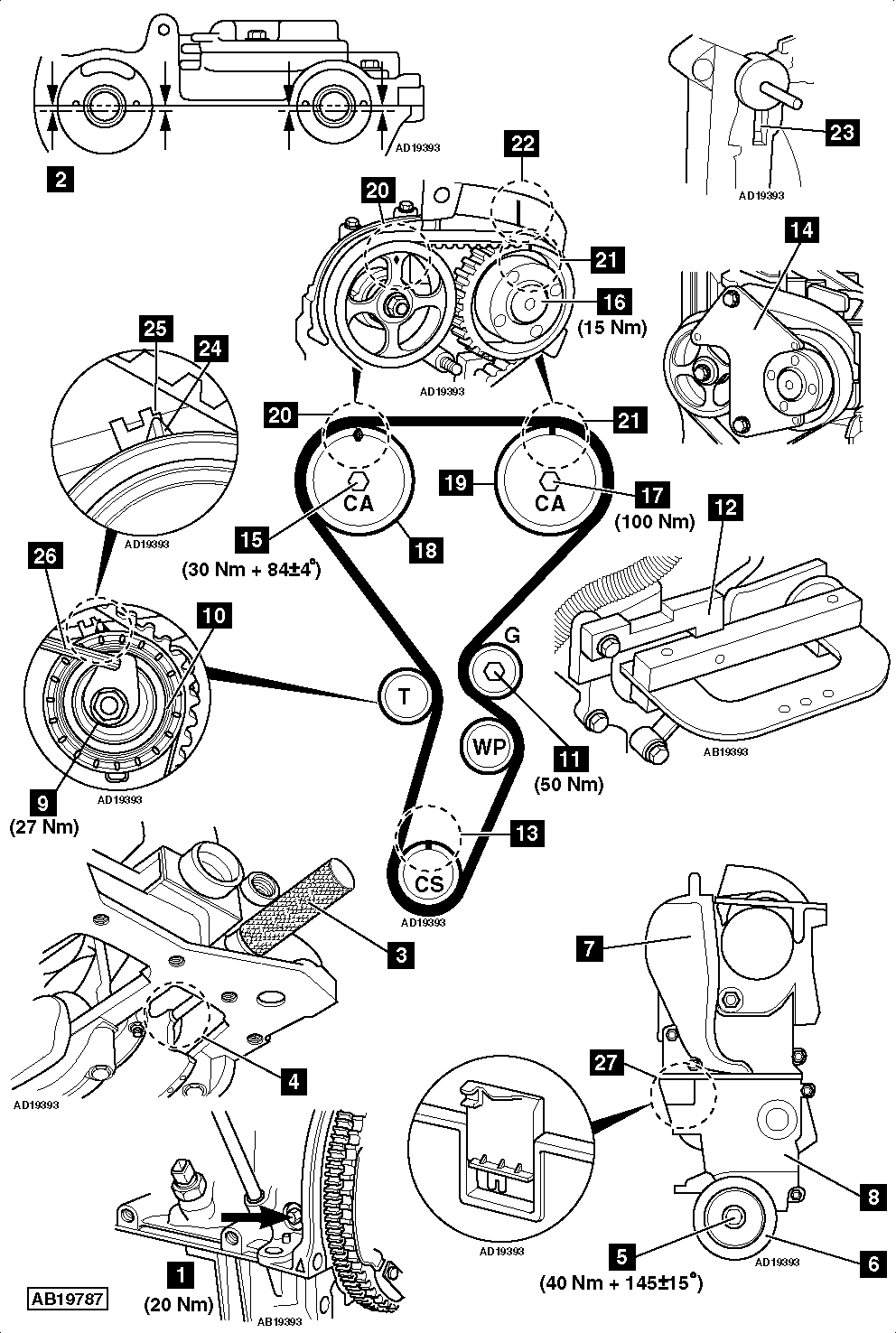 renault timing belt tools