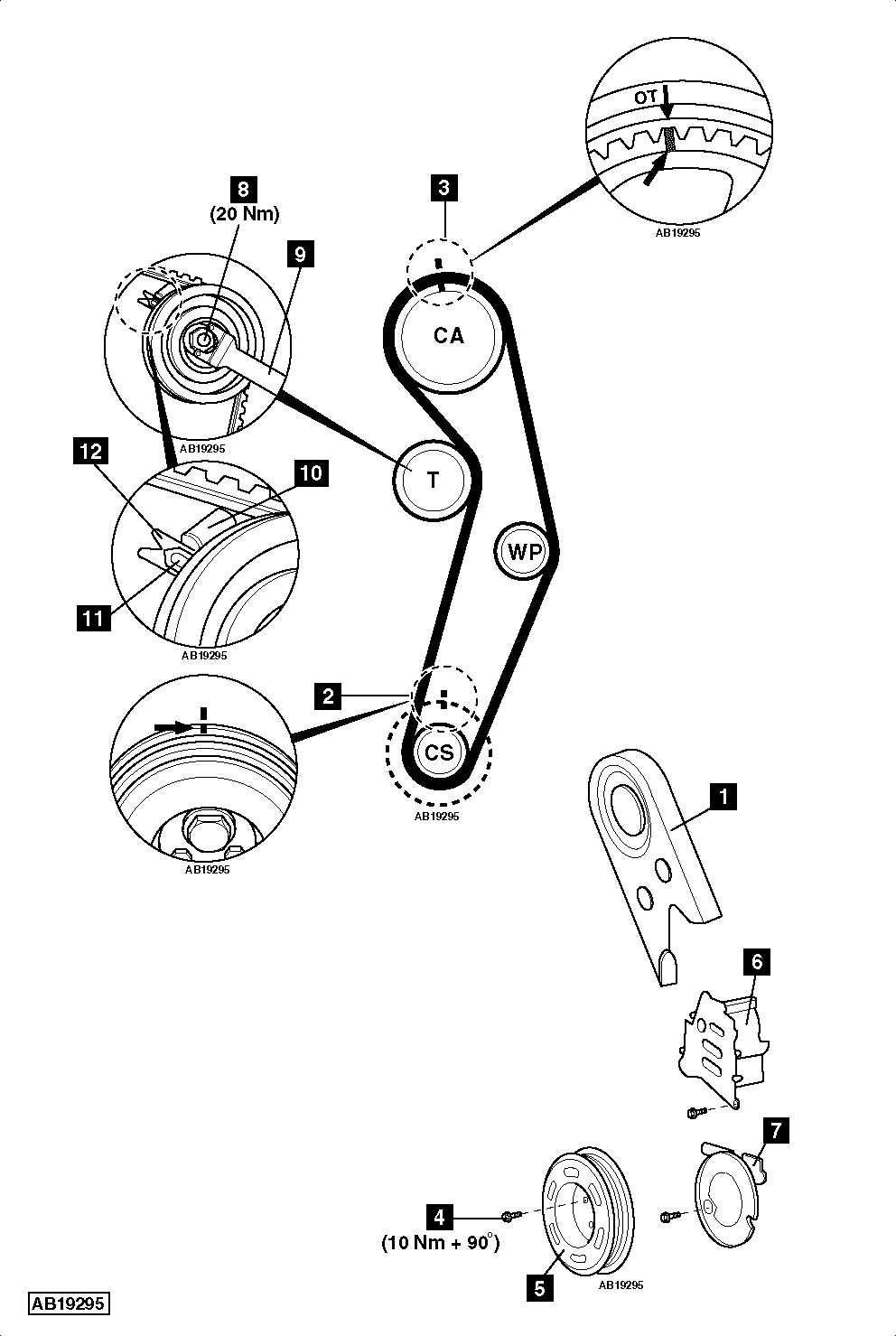 volkswagen jetta engine diagram