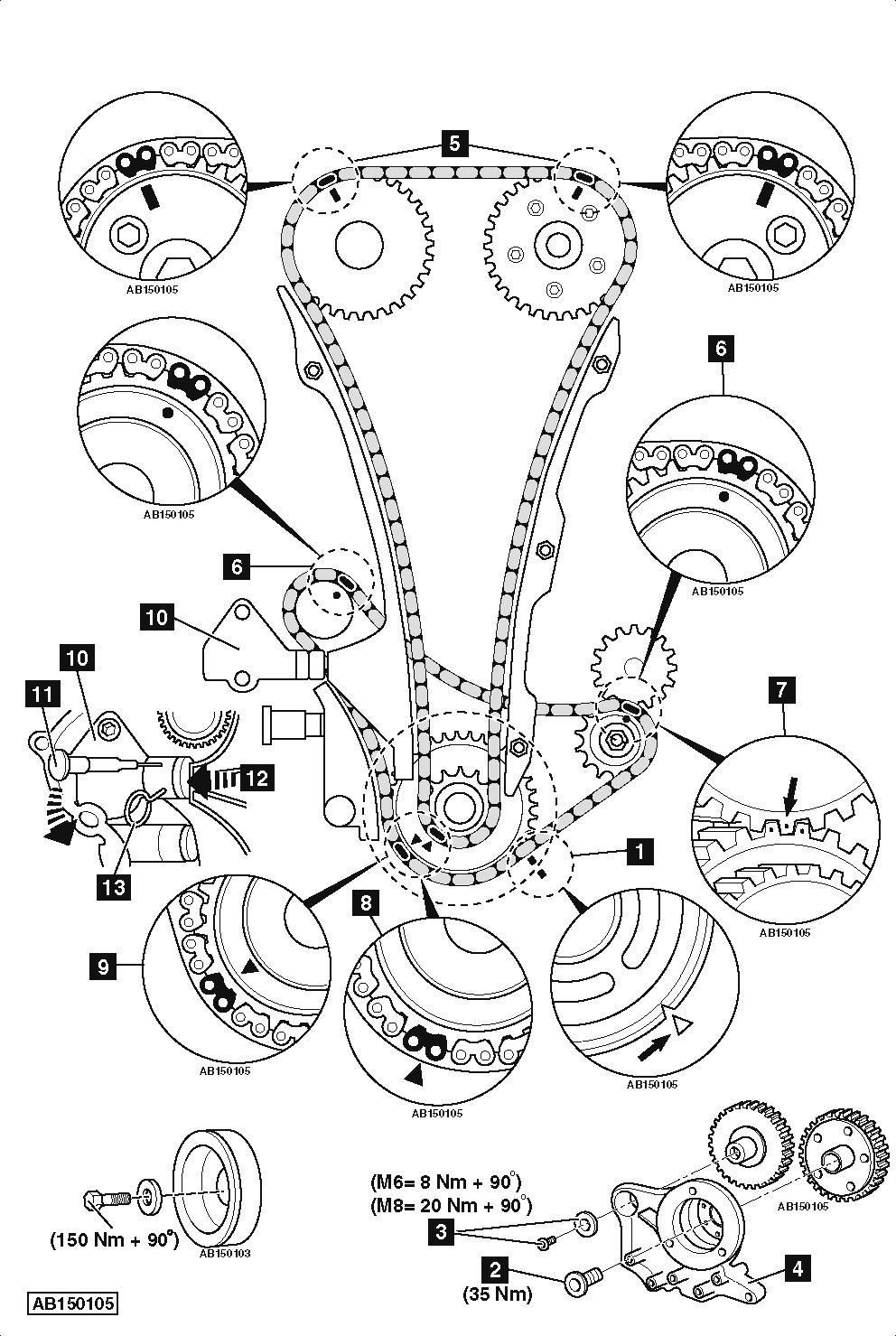 vw gti 2 0t engine diagram