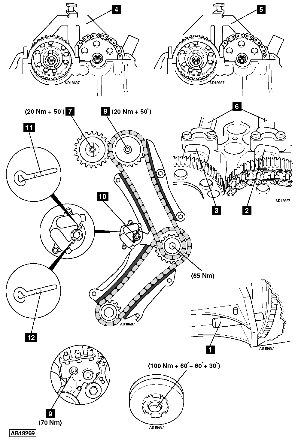 How To Replace Timing Chain On Bmw D E on Bmw E46 Belt Diagram