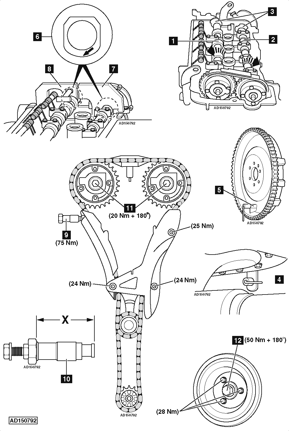Peugeot 308 Timing Chain Diagram Wire Schematic Gm Engine How To Replace On 1 4 Vti 2010 2002 Ford V8 Marks 22