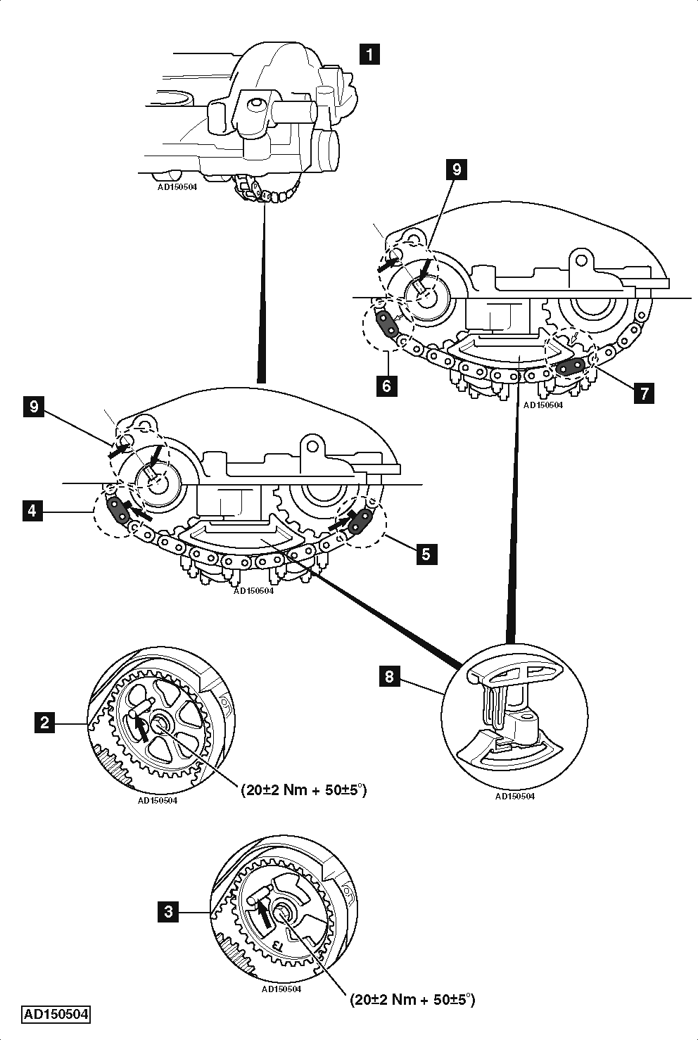 2015 sonata 2 4 timing chain