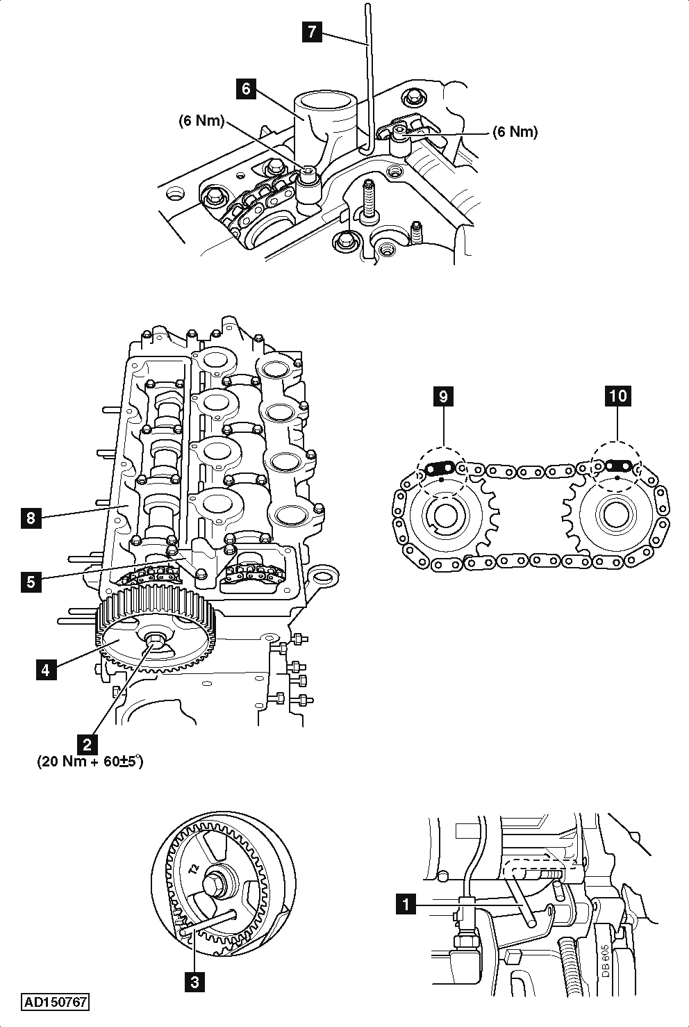 peugeot engine timing marks diagram for a engine air