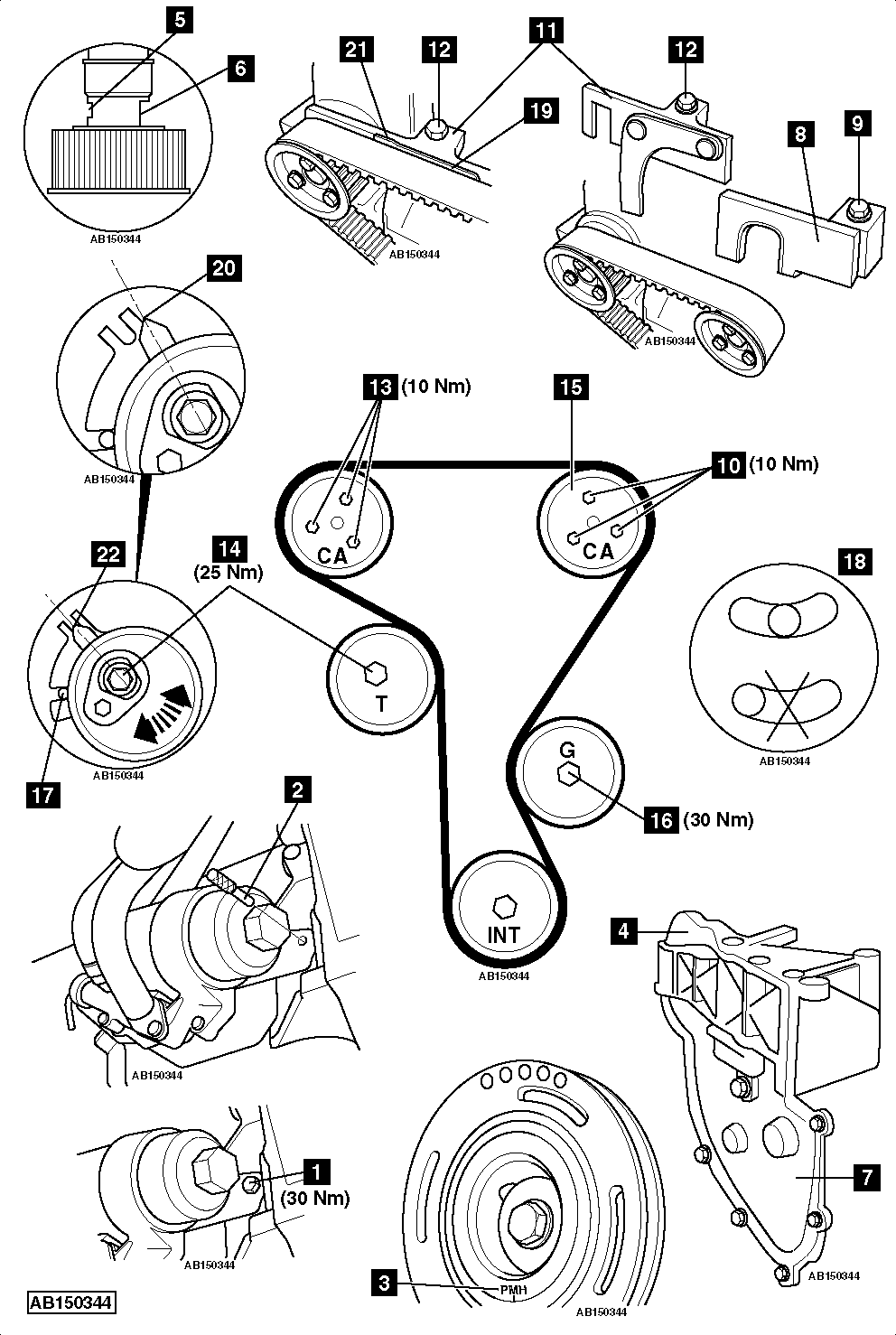 96 Lt1 Engine Diagram in addition How To Replace Timing Belt On Jaguar Xf 2 2d 2011 in addition Camshaft position sensor replacement likewise 94 Camaro Egr Valve Location besides 457. on crankshaft wiring harness