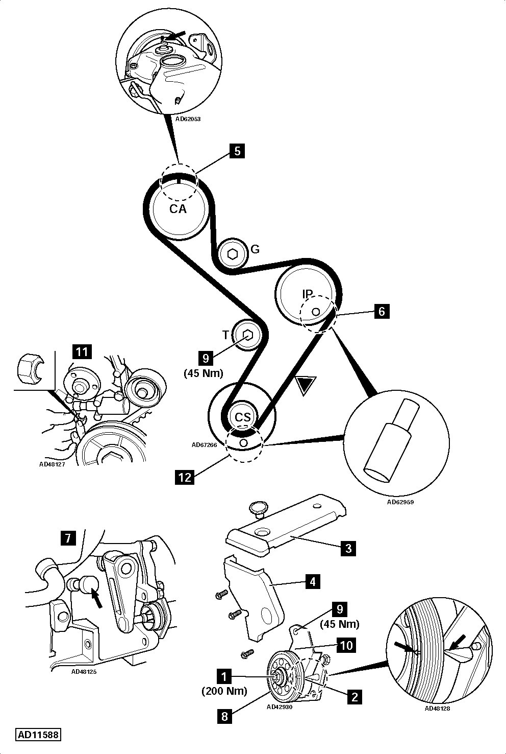 vauxhall oil pump diagram