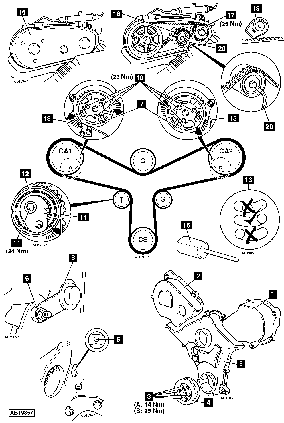 service manual  2003 jaguar s type timing chain