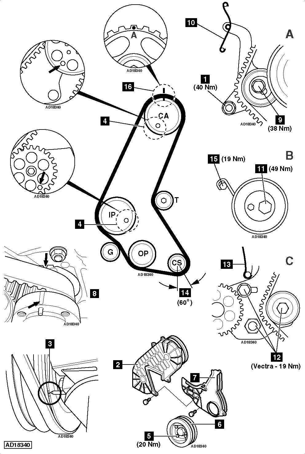 Toyota Camry 5SFE Engine Timing Belt Water Pump Seal Replacement in addition 2003 moreover Kohler M14 Engine Parts Diagram additionally 1997 likewise 2m3sm Fit Alternator Belt Peugeot 306 Power. on timing belt