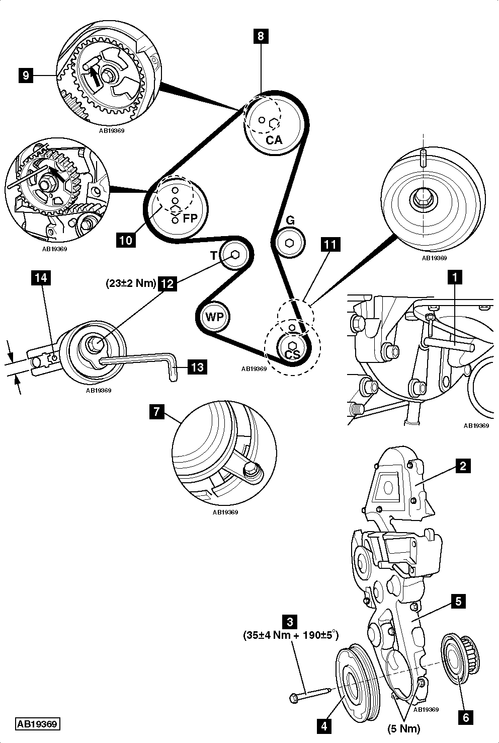 citroen xsara engine diagram