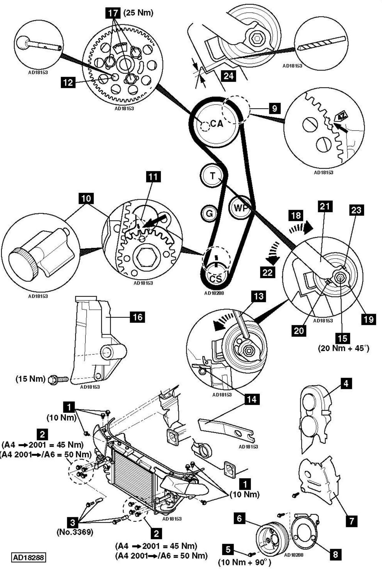 service manual  1997 audi a4 timing chain replacement