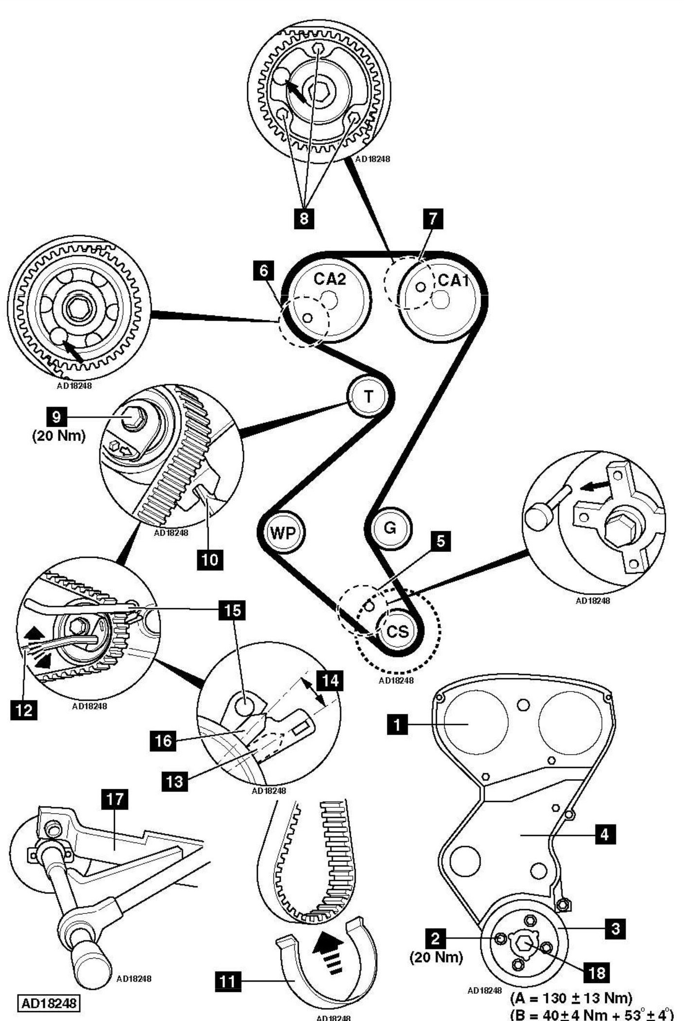 subaru 2 2 engine timing diagram