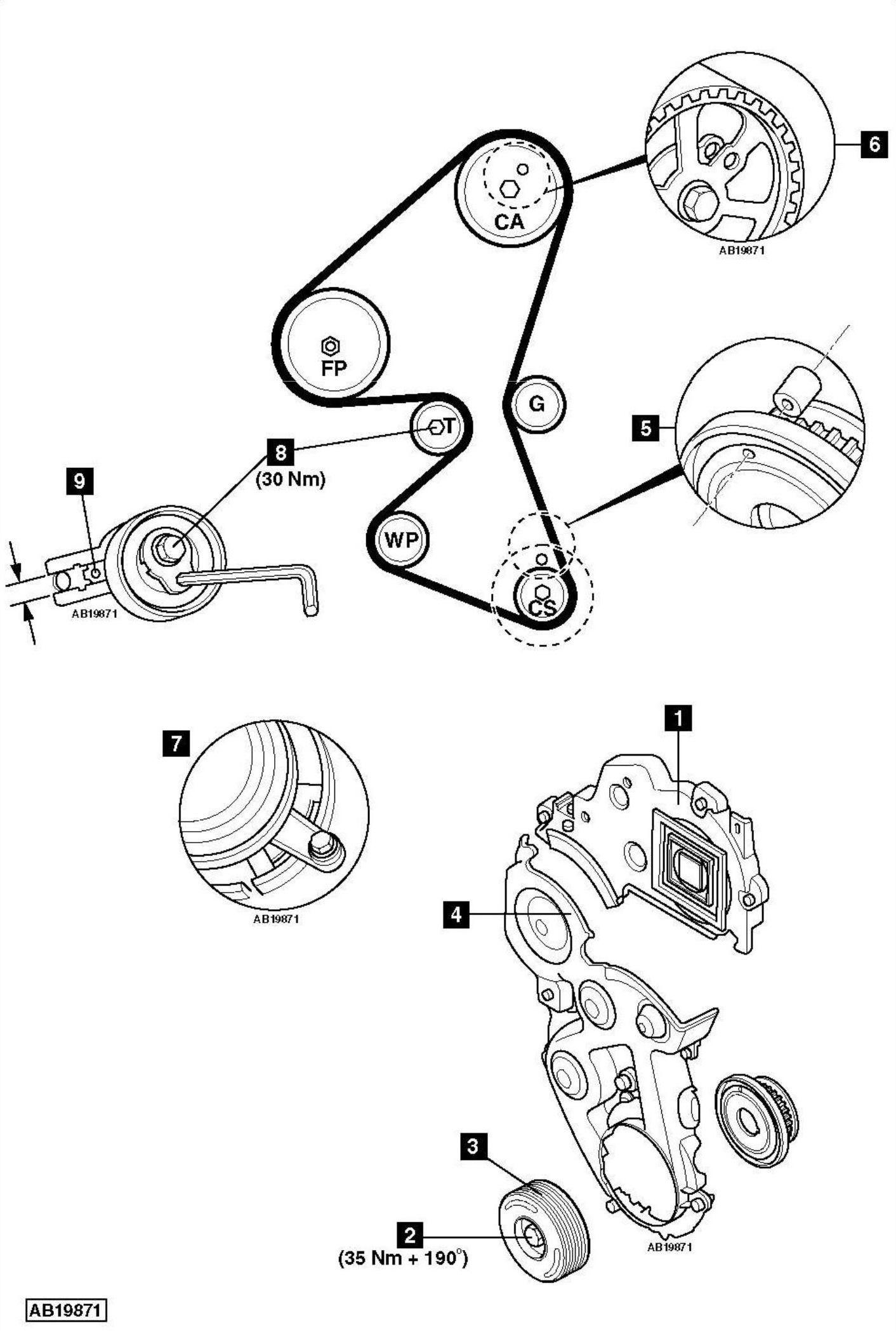 change timing belt user manuals