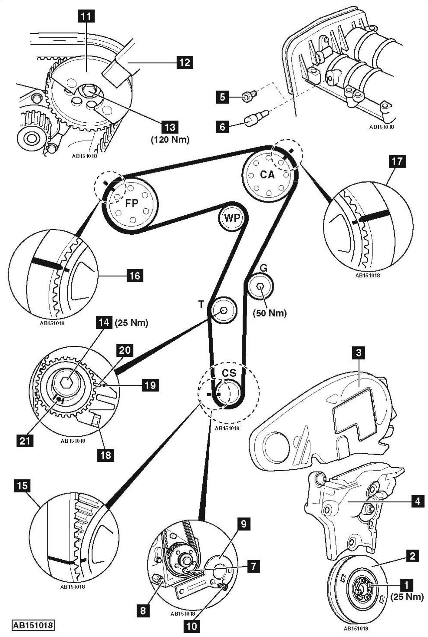 audi b6 1 8t belt diagram 1 9 tdi belt diagram