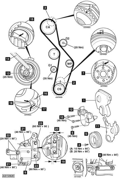 service manual  1987 volkswagen passat timing chain