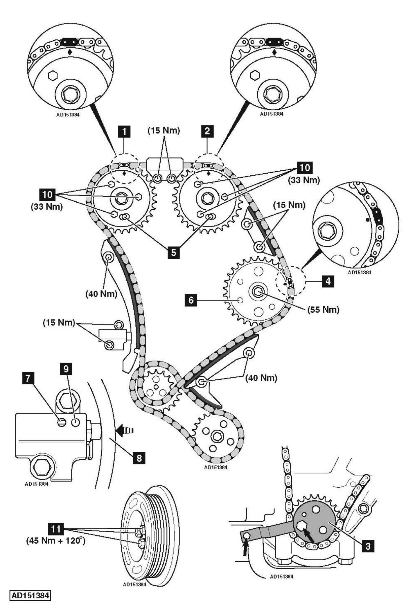 ford 3 0 engine diagram timing chains  ford  auto parts