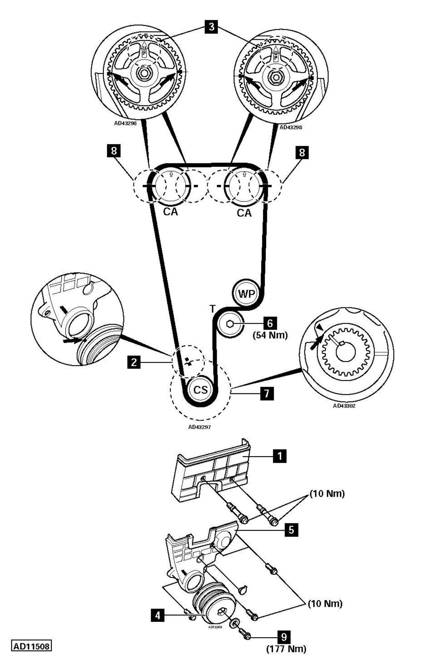 Honda Timing Chain Diagram Honda Auto Parts Catalog And