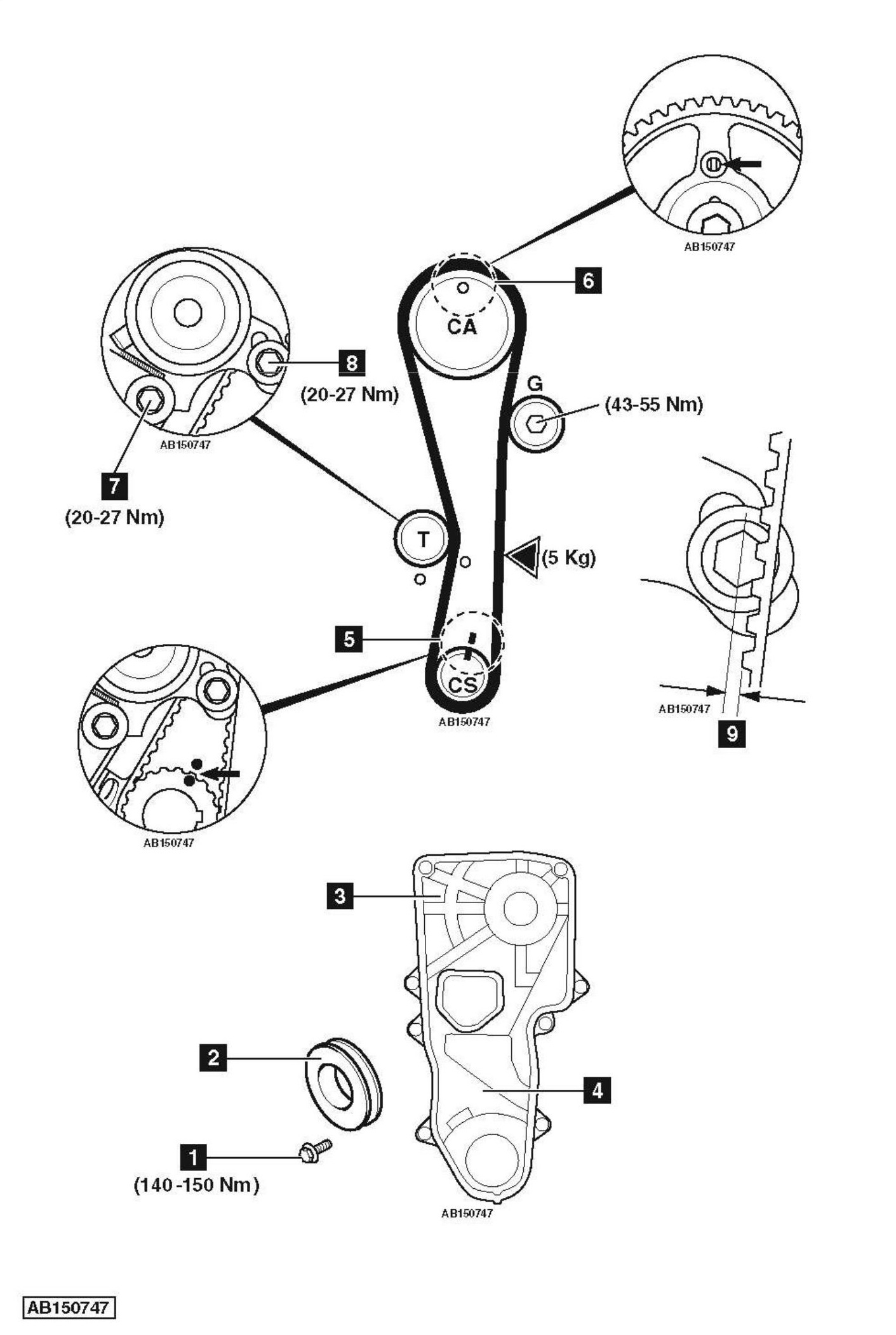 2005 Hyundai Elantra Timing Chain Replacement Diagram on Mazda 4 Cylinder Engines