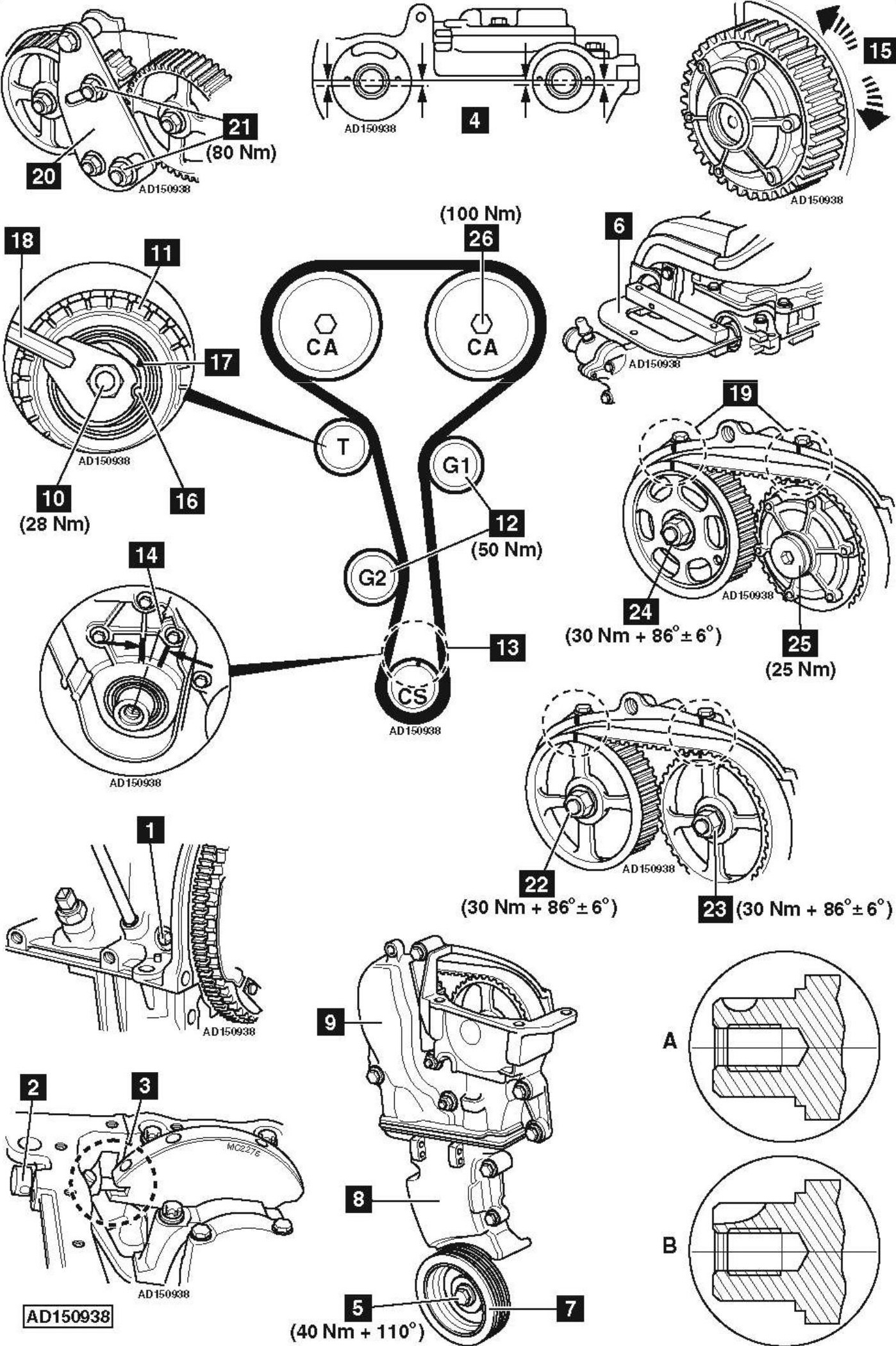 rear camshaft seal replacement html