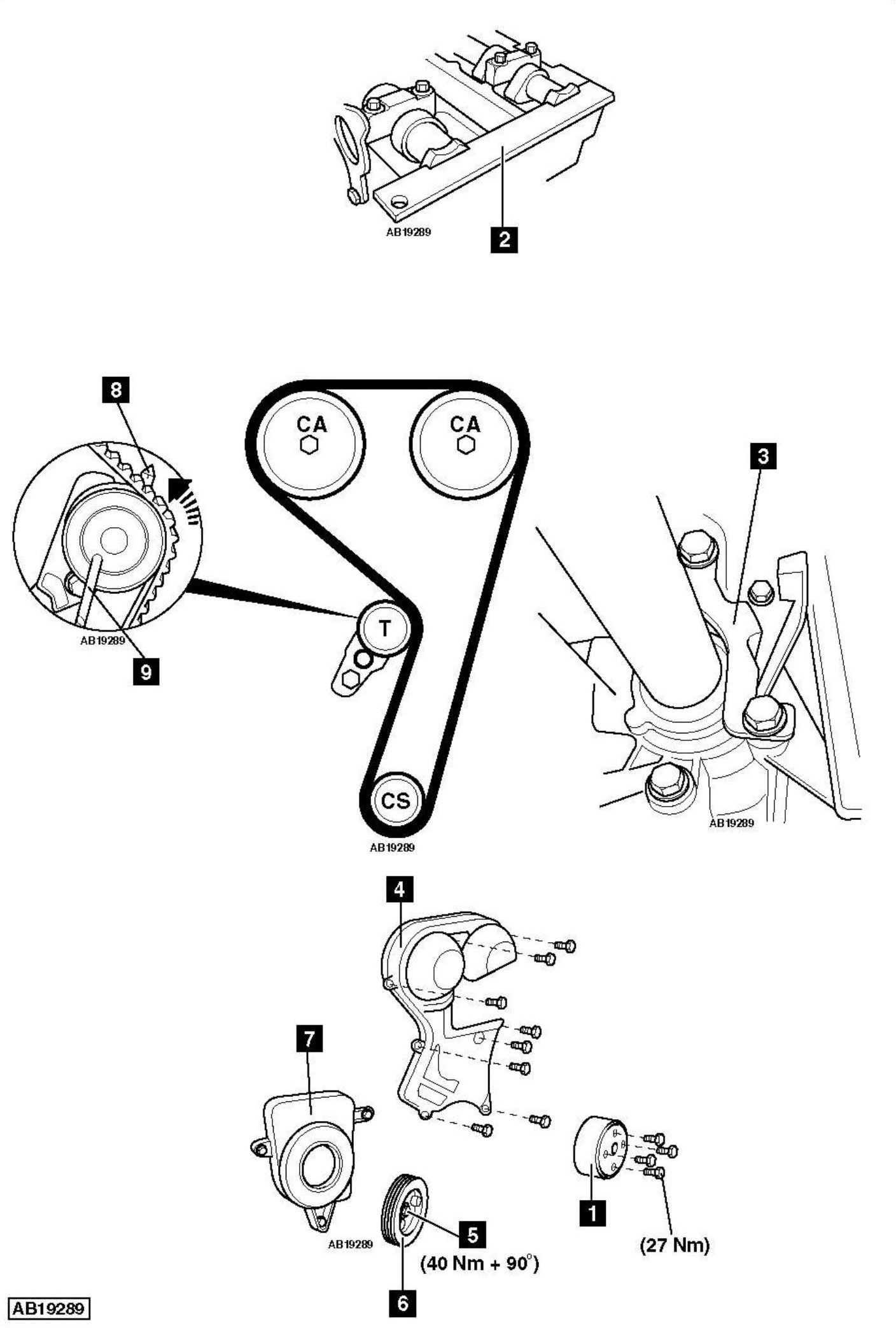 subaru water pump diagram 2001 html
